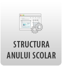 Structura An Scolar 2018-2019